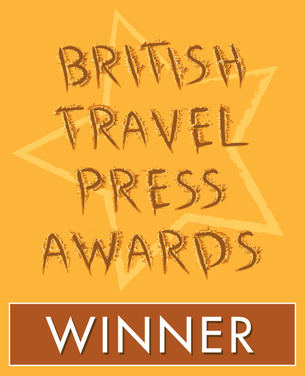 Travel Blogger of the Year at the British Travel Press Awards 2011
